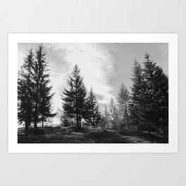 Zeitgefluester NO1 Art Print
