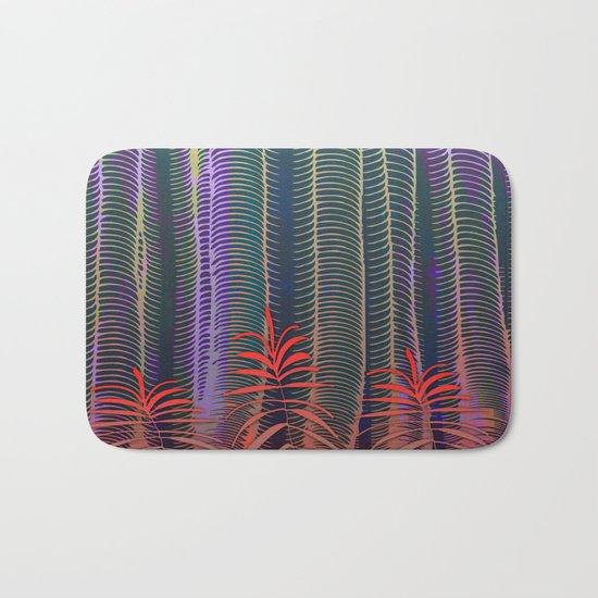 Spring Tropical Jungle Bath Mat