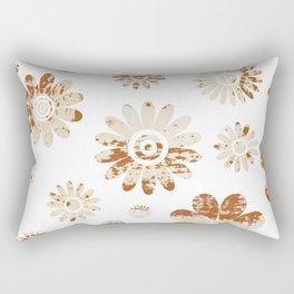 Shabby Flowers Rectangular Pillow