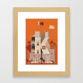 kahn Framed Art Print