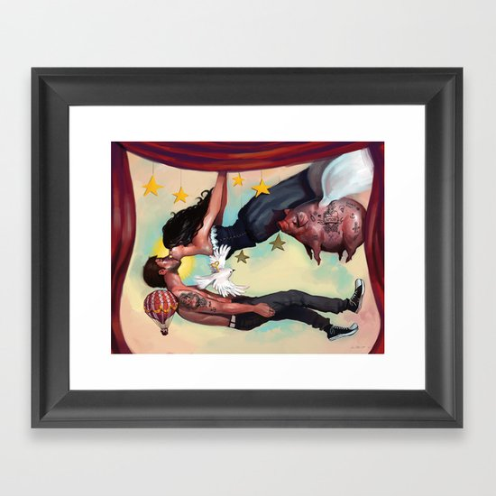 The Absurdity of Love Framed Art Print