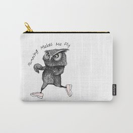 Running owl Carry-All Pouch