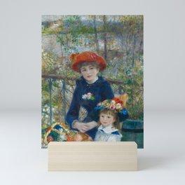 Pierre-Auguste Renoir - Two Sisters (On the Terrace) Mini Art Print