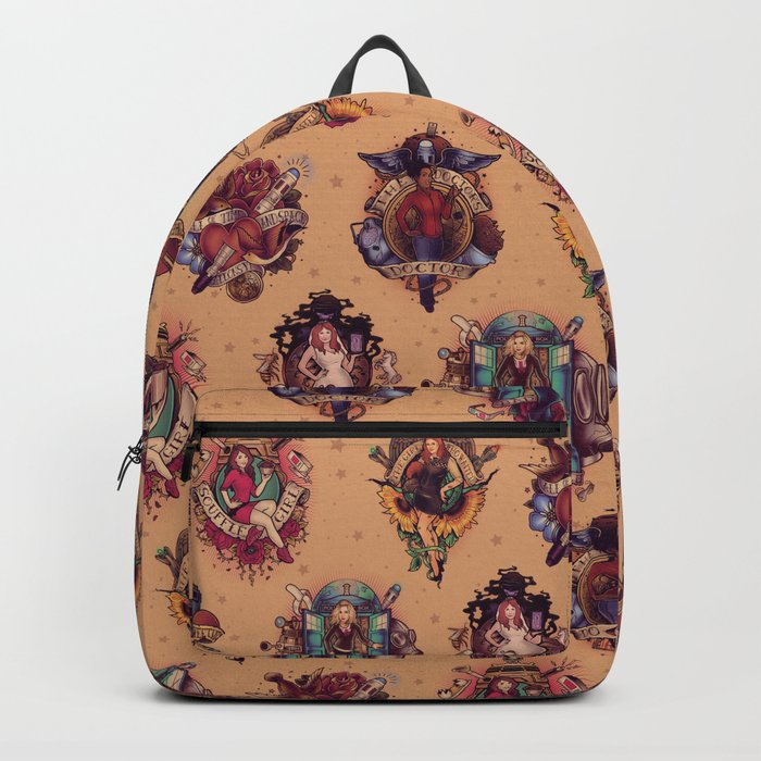 All Those Bright and Shining Companions Backpack