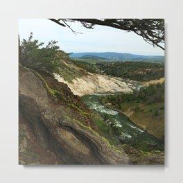 Yellowstone River View Metal Print