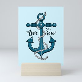 Love the Sea Mini Art Print