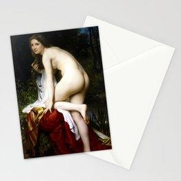 """William-Adolphe Bouguereau """"Bather"""" Stationery Cards"""