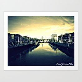 Dublin's Fair  City Art Print
