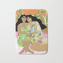 Sisters of the jungle Bath Mat