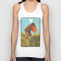 scuba Tank Tops featuring Scuba Pop by Joshua Lee