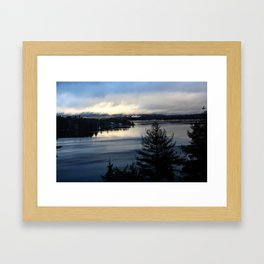 Lake Sunapee Framed Art Print