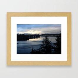 Lake Sunapee Framed Art Print