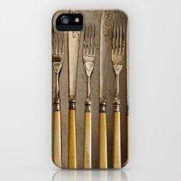 Vintage Cutlery - Kitchen Decor iPhone Case