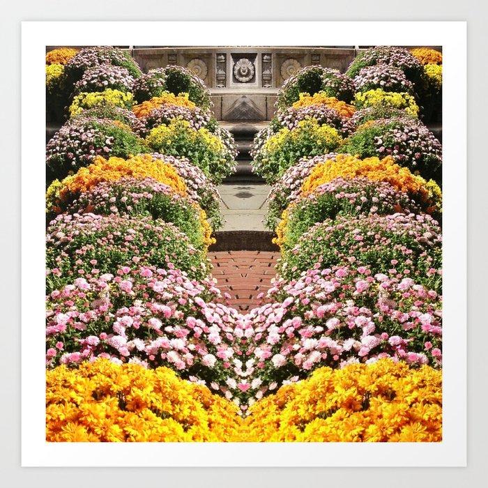 Flowers Flowers Art Print