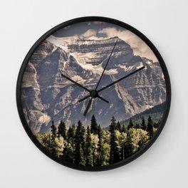 Mountain 5 Wall Clock