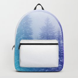 Blue and Purple Pines Backpack
