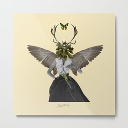 Complicated creature - melodious Metal Print