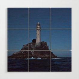 (RR 293) Fastnet Rock Lighthouse - Ireland Wood Wall Art