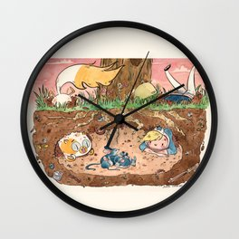 The Lair Wall Clock