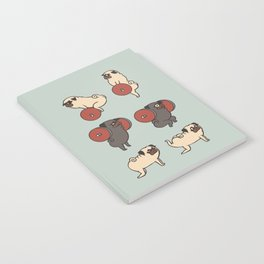 Butt Lift with The Pug Notebook