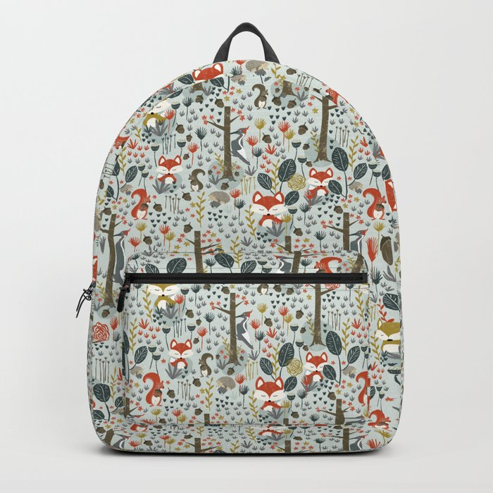 Rustic  Woodland Animals Backpack