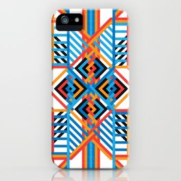 Grid iPhone Case
