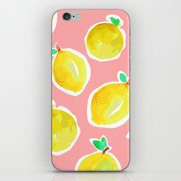 Lemon Crush 2 iPhone Skin