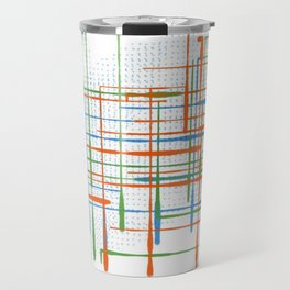 Abstract / Geometry - Colorful Terminal Travel Mug