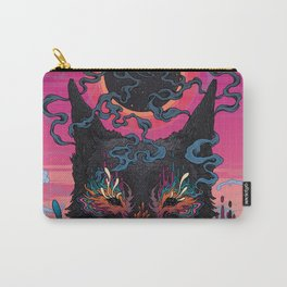 Black Eyed Dog Carry-All Pouch