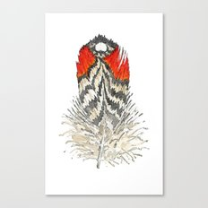 Red Feather - 03 Canvas Print