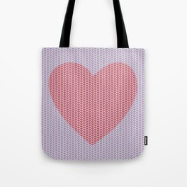 Heart Overload Valentine Issues Tote Bag