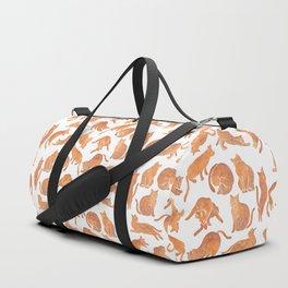 Cat Poses Duffle Bag