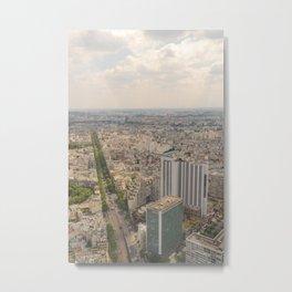 Tour Montparnasse Metal Print