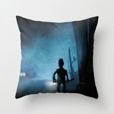 Item Nine Throw Pillow