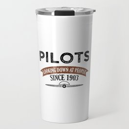 Pilot Proud Aviation Lover Gift Idea Travel Mug