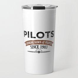 Pilot Proud Aviation Lover Gift Idea Travel Mug