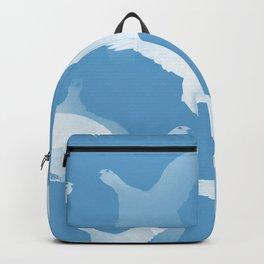 White Birds Against The Blue Sky #decor #society6 #homedecor Backpack