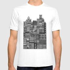 Castle Infinitus MEDIUM Mens Fitted Tee White