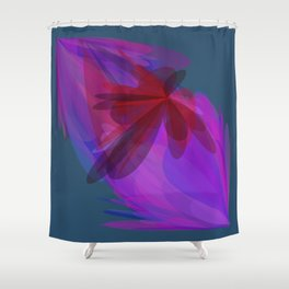 Visualization of GPS data Shower Curtain
