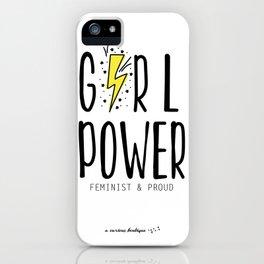 girl power iPhone Case