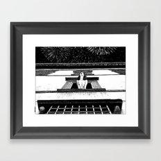 asc 445 - La célébration privée (The private New Year's party) Framed Art Print