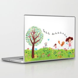 Skipping Laptop & iPad Skin