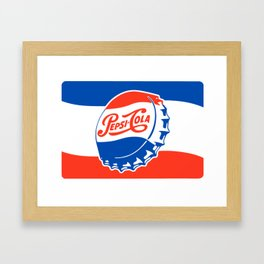 THE OTHER COLA Framed Art Print