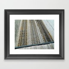 Repitition 1  Framed Art Print
