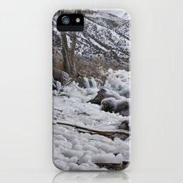 Icy Rocks iPhone Case