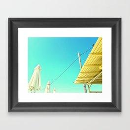 Clear skies Framed Art Print