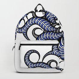 Reverse in blue Backpack