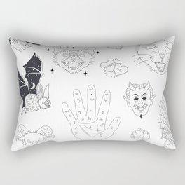 Halloween Flash Rectangular Pillow