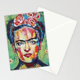 Frida «Pink Flowers» Stationery Cards