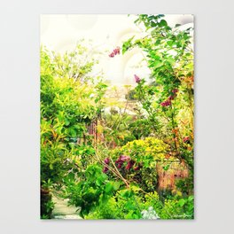 A piece of paradise Canvas Print